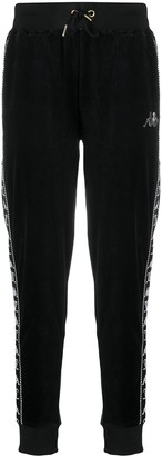 Kappa Textured Side Logo Panel Track Pants