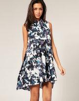ASOS Watercolour Lilly Swing Dress