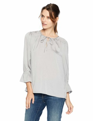 Lucky Brand Women's Parachute Peasant TOP