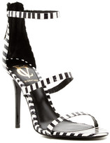 Vince Camuto Signature Bayron Genuine Snakeskin Stiletto Sandal