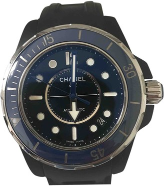 Chanel J12 Marine Black Ceramic Watches