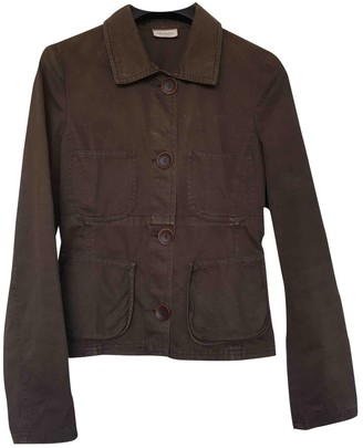 Max & Co. Brown Cotton Jacket for Women