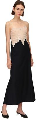 Gabriela Hearst Lvr Sustainable Silk & Cashmere Dress