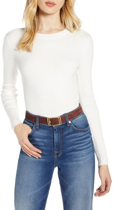 Halogen Ribbed Sweater