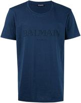 Balmain logo T-shirt - men - Cotton - L