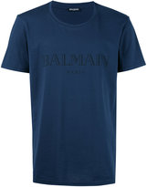 Balmain logo T-shirt - men - Cotton - XL