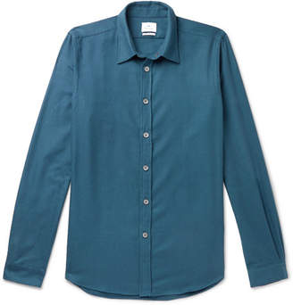 Paul Smith Slim-Fit Cotton-Flannel Shirt