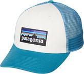 Patagonia P6 Logo Trucker Cap White