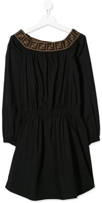 Fendi FF smock dress