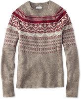 L.L. Bean Signature Winter Fair Isle Sweater
