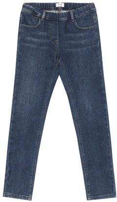 Il Gufo Stretch-cotton denim jeans