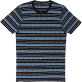 Denham Signature Triple Slub Stripe T-shirt, Navy