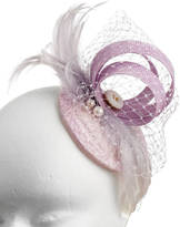 Holly Young Millinery Classic Wedding Fascinator