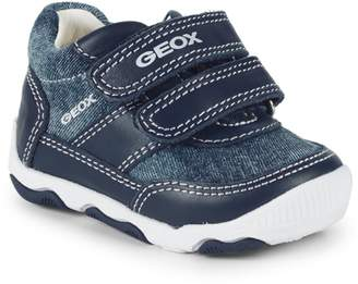 Geox Baby's New Balu Leather Sneakers