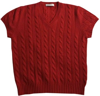Brunello Cucinelli Red Cashmere Knitwear