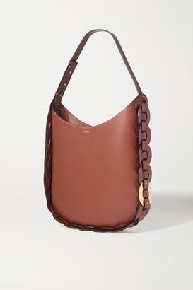 Chloé Darryl Medium Braided Textured-leather Shoulder Bag
