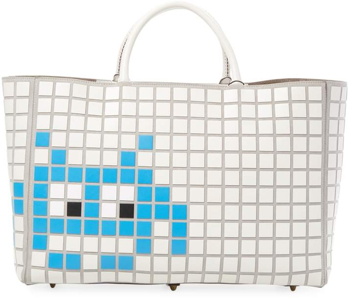 Anya Hindmarch Women's Ebury Maxi Space Invader Tote Bag