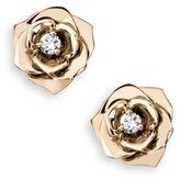 Piaget Rose Diamond & 18K Rose Gold Stud Earrings