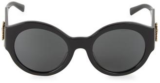 Versace 54MM Round Sunglasses