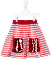 Mi Mi Sol - striped skirt - kids - Cotton/Polyester - 4 yrs