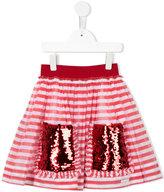 Mi Mi Sol - striped skirt - kids - Cotton/Polyester - 6 yrs