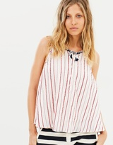 Maison Scotch Sleeveless Woven Swing Top