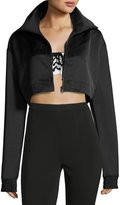 Fenty Puma by Rihanna Cropped EZ Track Jacket, Black