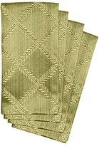 Lenox Laurel Leaf Napkins, Golden Sage, Set of 4