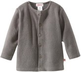 Zutano Cozie Fleece Jacket - Gray- 18 Months