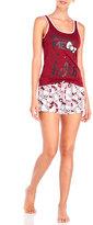 Hello Kitty Two-Piece Had Me At Hello Tank & Shorts Pajama Set