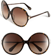 'Lais' Oversized Round Sunglasses