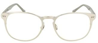 Linda Farrow 51MM Round Optical Glasses