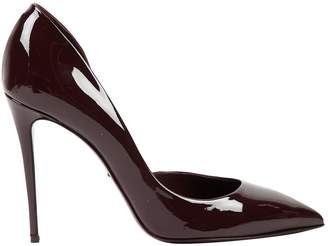 Dolce & Gabbana Burgundy Patent leather Heels