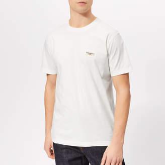 Nudie Jeans Men's Daniel Logo T-Shirt