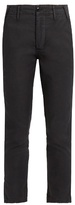 The Great The Miner mid-rise slim-leg trousers