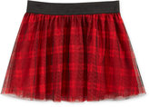 Epic Threads Little Girls' Mix and Match Plaid Tulle Skirt, Only at Macy's
