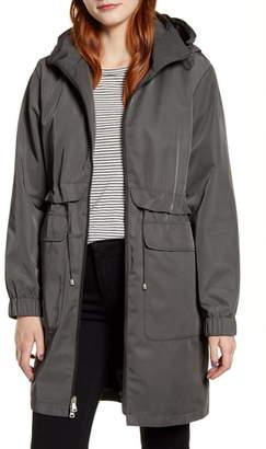Kristen Blake Hooded Raincoat