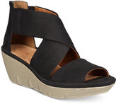 Clarks Artisan Women's Clarene Glamour Wedge Sandals