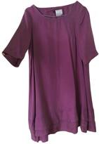 Maje Purple Silk Dresses