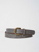 White Stuff Floral cut out belt