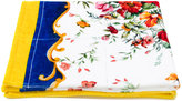 Dolce & Gabbana floral print towel - kids - Cotton - One Size