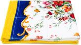 Dolce & Gabbana floral print towel