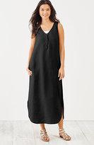 J. Jill Linen Maxi Dress