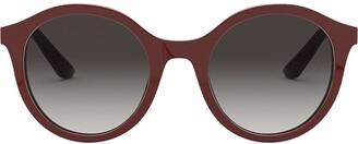 Dolce & Gabbana Eyewear oversized round frame sunglasses
