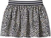 Joe Fresh Toddler Girls' Print Ponte Skirt, Cream (Size 5)