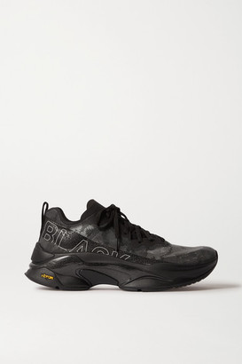 Brandblack Kite Racer Camouflage Mesh, Ripstop And Rubber Sneakers