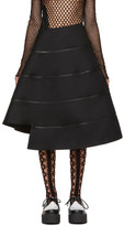 Junya Watanabe Back Spiral Zipped Skirt