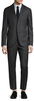 Gucci Wool Birdseye Notch Lapel Suit