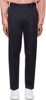 Acne Studios Navy Cotton Abram Trousers