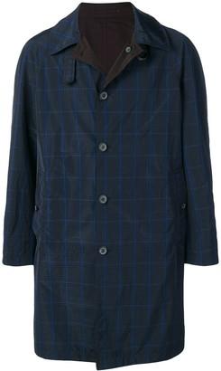 Lanvin Check Single-Breasted Coat